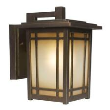 Home Decorators Collection Port Oxford 1-Light Oil Rubbed Chestnut Outdoor Wall