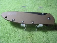 Used KERSHAW SPEEDSAFE USA 1660DSBLK LEEK FOLDING POCKET KNIFE NICE!