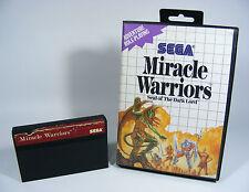 MIRACLE WARRIORS für Sega Master System - MS SMS Spiel Modul OVP ohne Anleitung