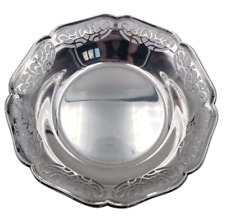"""Vintage 800 Silver Cutout Bowl by WMF Germany 51 grams 4 7/8"""" in Diameter"""