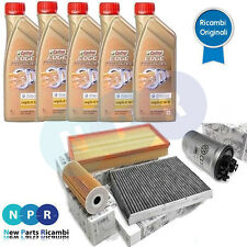 KIT TAGLIANDO ORIGINALE VW GOLF4 TDI ASZ CON 5KG CASTROL EDGE 5W30