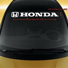 Honda WINDSHIELD #2 CAR STICKER vinyl decal ACCORD Fit CR-V
