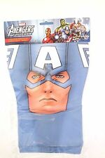 Marvel Avengers Assemble Captain America Adult Halloween Party Mask Ages 14+ NWT