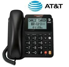 AT&T CL2940 Corded Speaker Telephone with LCD Display Caller ID/Call Wait Black