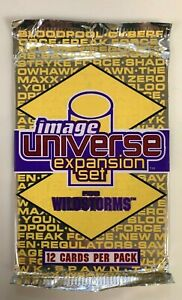 IMAGE COMICS UNIVERSE EXPANSION SET for WILDSTORMS Booster Pack (12 Cards)