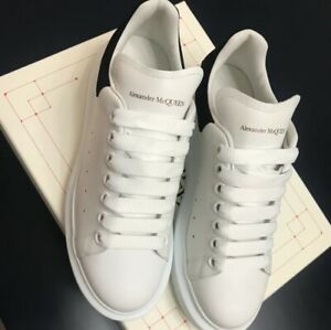 Alexander McQueen Classic thick soled sports casual shoes men's black tail