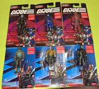 GI Joe Mini Figures Limited Edition *COMPLETE SET OF 6* Free Ship