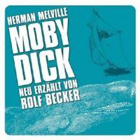 HERMAN MELVILLE - MOBY DICK (NEU ERZÄHLT VON ROLF BECKER)  CD  9 TRACKS  NEW