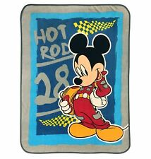 Disney Mickey Mouse Twin Throw Blanket