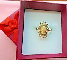 Sterling Silver 925  Handcrafted Cameo Ring skaisDEC17