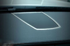 Steel Front Middle Console Speaker Cover Trim 1pc for BMW 7 Series F01 2010-2015