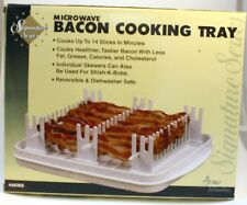 Signature Series Microwave Bacon cooking Tray Acme Intl. #68202 New
