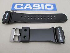 Genuine Casio G-Shock G-Lide GWX-8900B GWX-8900B-7 watch band black glossy