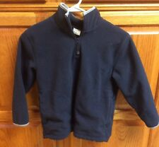 Old Navy Performance Fleece 1/4 Zip Pullover  - Navy Blue Youth Small YS