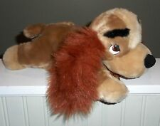 """Disney Store Lady And The Tramp Plush Stuffed Cocker Spaniel Tag 12"""" Baby Safe"""