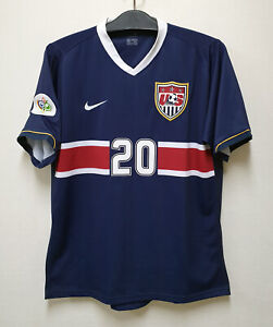 2006-07 USA Away No.20 McBRIDE S/S 2006 WorldCup Sz L