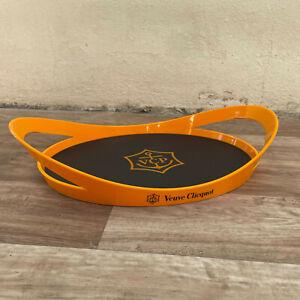Veuve Clicquot Designer Acrylic Tray Black and Orange 01092120