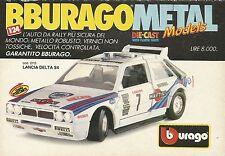 X1212 BBURAGO - LANCIA DELTA S4 - Pubblicità 1990 - Advertising