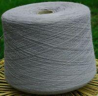 Knitting Machine Yarn Top Quality 3/30s 900g Acrylic Light Grey IND20.05