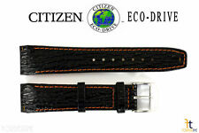 Citizen Eco-Drive E812M-S033870 21mm Black Leather Watch Band E820M-S061806