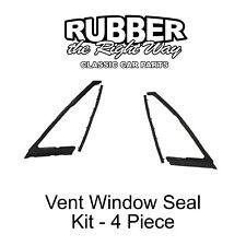 1965 - 1968 Buick Cadillac Chevy Oldsmobile Pontiac Vent Window Seal Kit 4 pc.