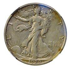 1929 S Walking Liberty half dollar NGC EF-45