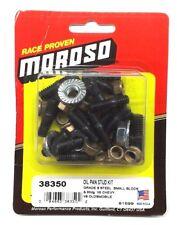 MOROSO 38350 Small Block Chevrolet Oil Pan Stud Kit-SBC 350 383 - Grade * steel