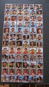 1985 Kraft Cheese VFL Footballer Stickers - Full Set of 72