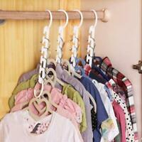 Wonder Closet Organizer Space Saver Magic Hanger Clothing Rack Clothes Hook