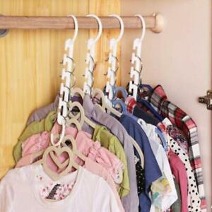 Clothing Rack Clothes Hook Organizer Holder Wonder Closet Space Saver Hanger