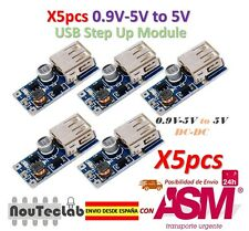 5pcs 0.9V-5V to 5V DC-DC USB Voltage Converter Step Up Power Supply Module