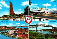 Grüße aus Kiel  , ungel. Ansichtskarte