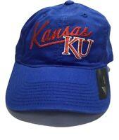 NCAA Kansas Jayhawks Men's Adjustable Ball cap - Adidas - Blue
