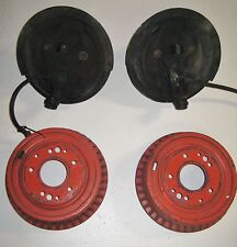 1968 Chevy Camaro Front Spindles  Rotors and Brakes Complete Let and right
