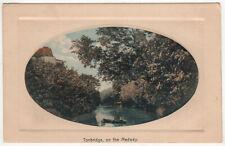 TONBRIDGE ON THE MEDWAY River UNITED KINGDOM PC Postcard ENGLAND Kent MALLING