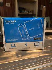 Nyrius Aries Prime Wireless Video HDMI Transmitter & Receiver for Streaming NIB