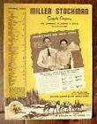 Vtg 1959 Miller Stockman Supply Company Spring Catalog #116