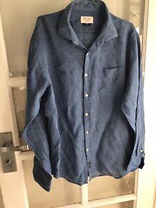 Gazman Size L Pure Linen Shirt