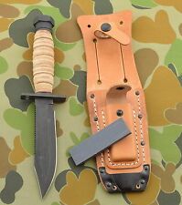ON499 Messer Tactical Ontario Air Force Survival 1095 Carbon Blade Made In USA