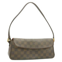 LOUIS VUITTON Damier Recoleta Shoulder Bag N51299 LV Auth gt353