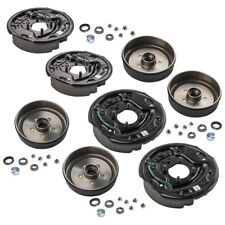 "4 Trailer 10 x 2 1/4"" Electric Brake 5 on 4.5 Hub Drum Bearing Kit 3500 lbs Axle"