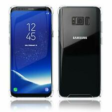 Samsung Galaxy S8 Plus Case | Transparent Crystal Clear TPU Cover | Slim Silicon