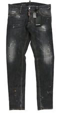 DSQUARED2 Night Stellata Wash Cool Guy Jeans in Black (Black) Men's Jeans sz 50