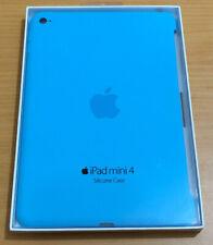100% Genuine Original Apple Silicone Case Cover for iPad Mini 4 Blue!