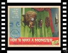 HOW TO MAKE A MONSTER '58 HAS INVASION OF THE SAUCER-MEN MASK ON ORIGINAL LOBBY