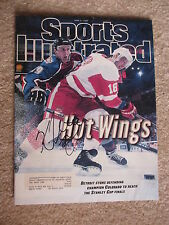 KIRK MALTBY Detroit Redwings  Autographed 1997 Sports Illustrated Magazine