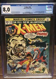 X-MEN 94 CGC 8.0 🔥 WHITE PAGES🔥 New X-Men Begin - 3760309002
