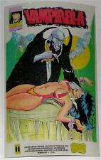 VAMPIRELLA~BLOOD DRIVE~SCARCE~LTD ED STICKER~SIGNED GONZALO MAYO~1996