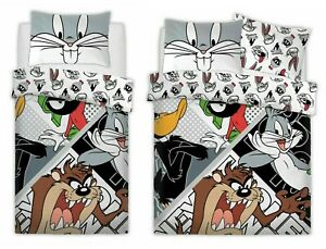 Looney Tunes Crew Duvet / Quilt Cover & Pillowcase - Single / Double Polycotton