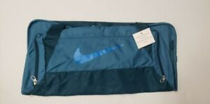 Nike Brasilia 6 MEDIUM Duffel Bag BA4829-409 Rift Blue/Space Blue NWT